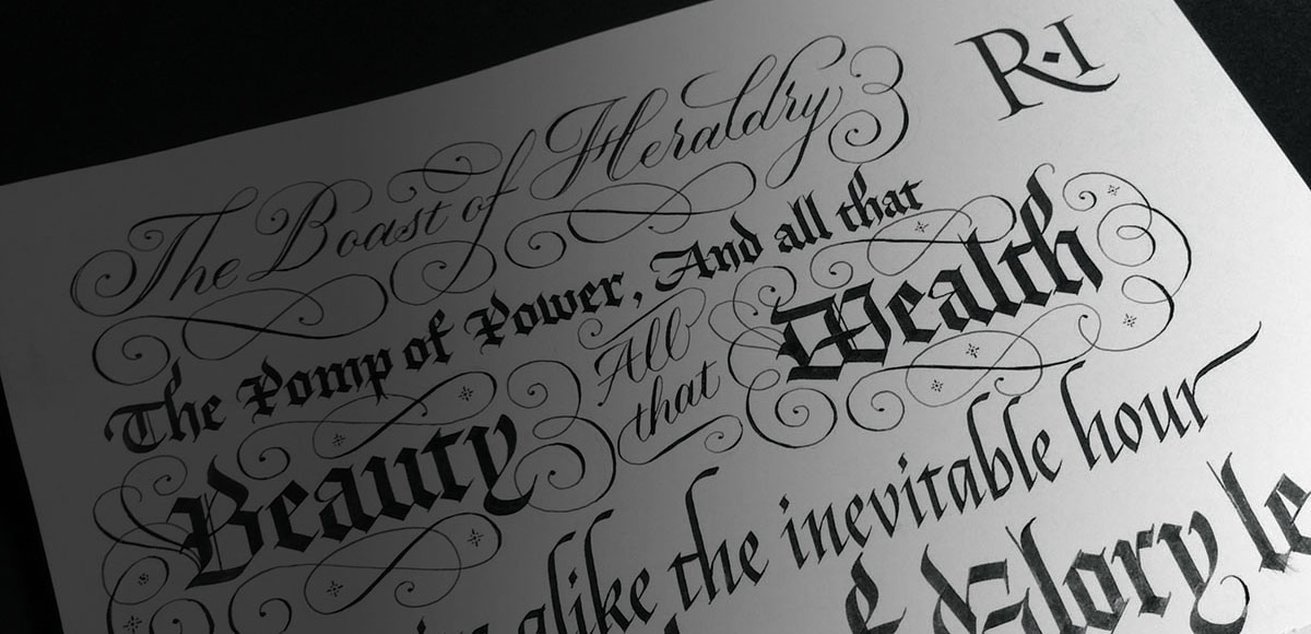 Learn Calligraphy Online With Seb Lester