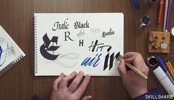 Seb Lester Calligraphy Course
