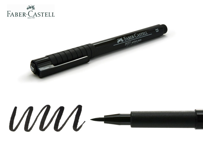 Brush Pens For Lettering Faber Castell Pitt