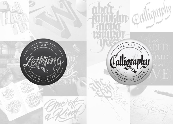 Hand Lettering vs Calligraphy