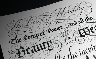 Seb Lester Calligraphy Arturth