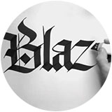 What Is Hand Lettering Black Lettering