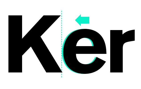 What Is Kerning Space Between Letters