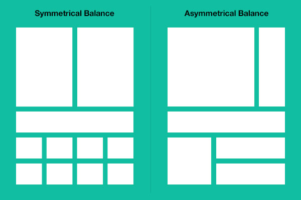 Graphic Design Elements Balance