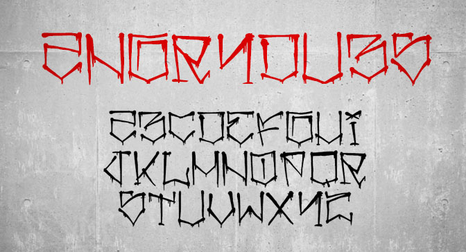 Free Grafitti Fonts Angry Dubs