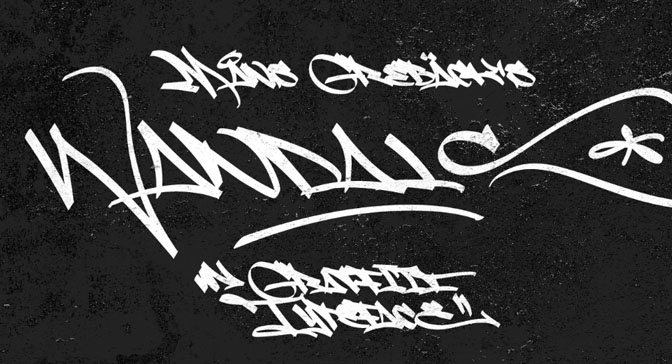 Free Grafitti Fonts Fat Wandals