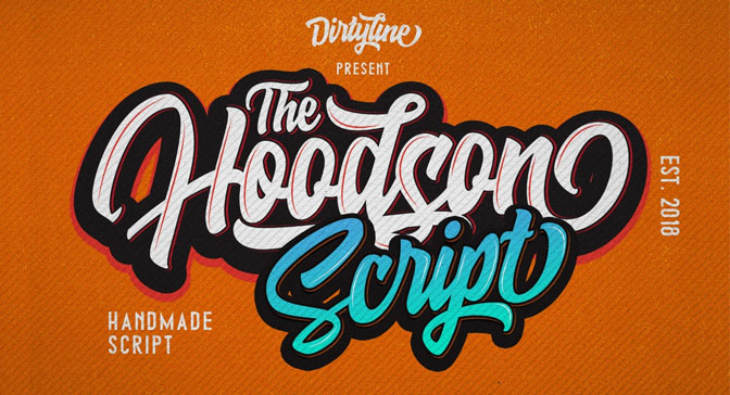 Free Grafitti Fonts Hoodson Script