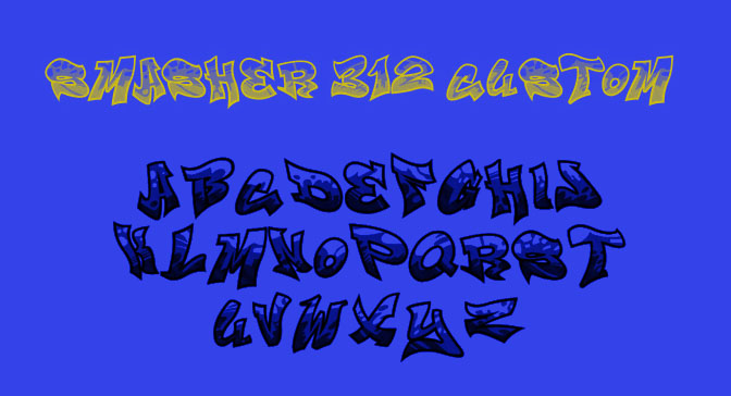 Free Grafitti Fonts Smasher Custom