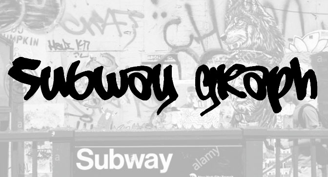 Free Grafitti Fonts Subway Graph