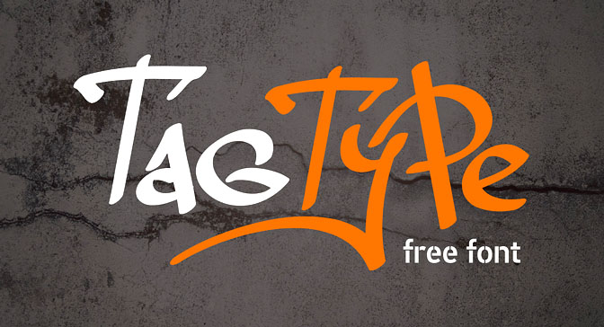 Free Grafitti Fonts Tag Type