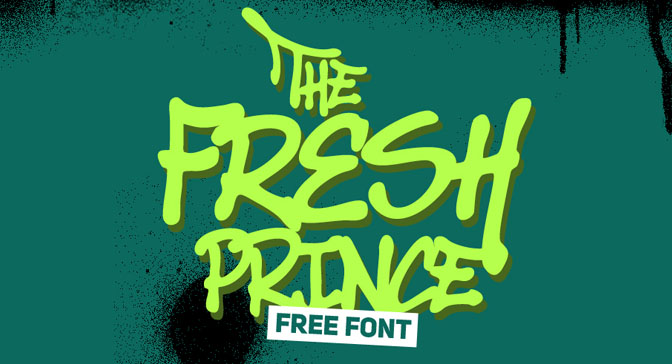 Free Grafitti Fonts The Fresh Prince