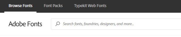 Adobe-TypeKit