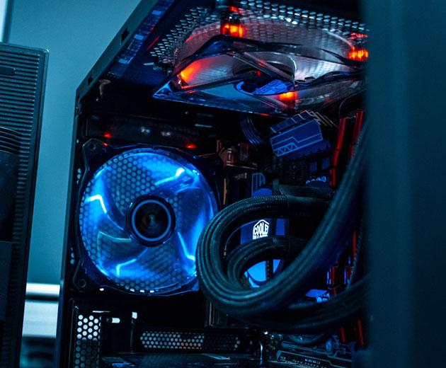 PC Case CPU Cooling