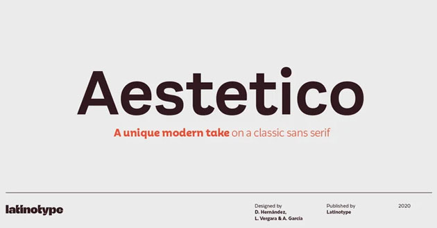 Best Display Fonts Aestetico