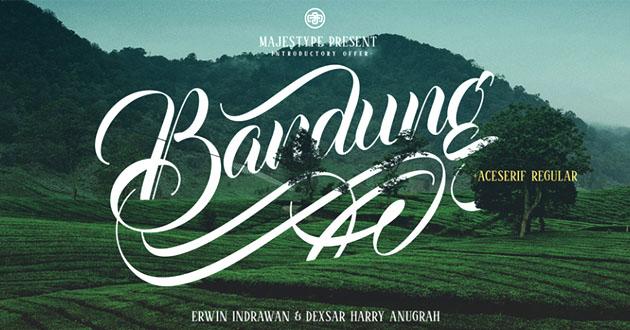 Best Display Fonts Bandung