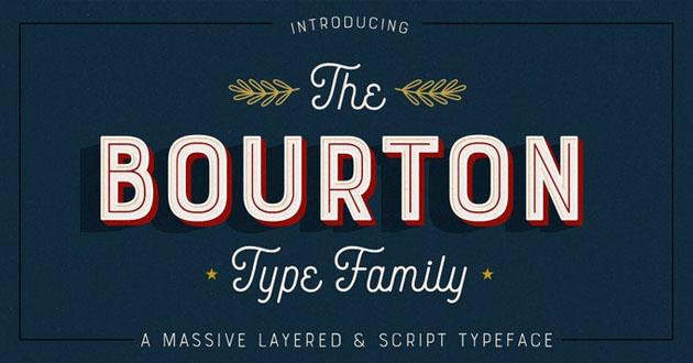 Best Display Fonts Burton