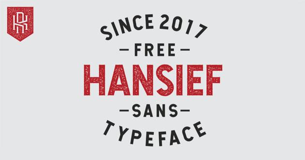 Best Display Fonts Hansief