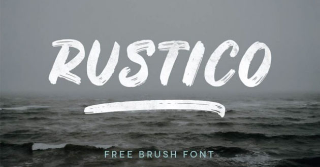 Best Display Fonts Rustico