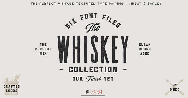 Best Display Fonts Whiskey