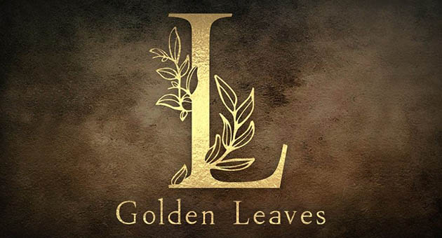 Nature And Plant Fonts Golden Leaves