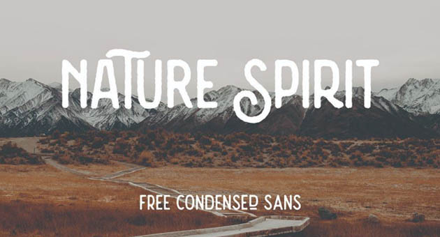 Nature And Plant Fonts Nature Spirit