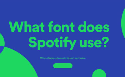 What Font Does Spotify Use